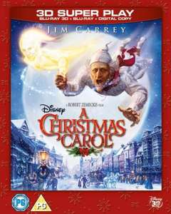 Remember to A Christmas Carol (2010): 3D Super Play (Includes 3D Blu-ray, 2D Blu-ray and Digital Copy) HMV only £14.99 DELIVERED