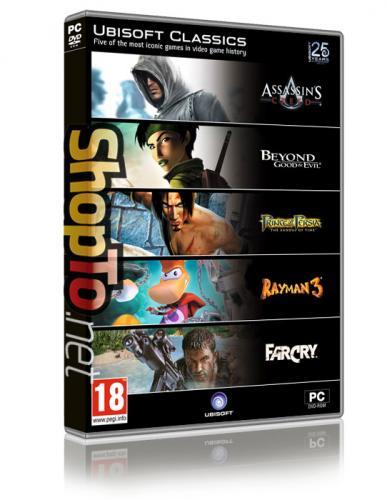 Ubisoft Classics PC £6.85 @shopto