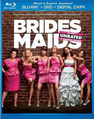 BRIDEMAIDS (blu-ray) £12 @ Blockbuster