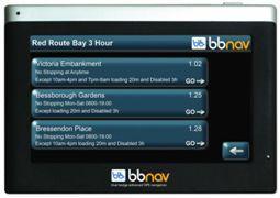 BBNav BBN100 Blue Badge Sat Nav - UK & ROI = £49.90 @ Halfords