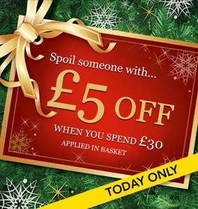 Today Only ... Spend £30 and get £5 off @ Asda Clothing Online + 8% quidco and free delivery to store.