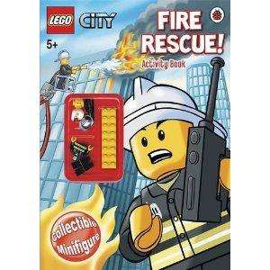 Lego City Activity Books with minifigure (Fire, Emergency, Builder) - £2.92-£2.99 Each Delivered @ Amazon