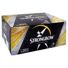 Strongbow 20 x 440ml for £10 at Tesco
