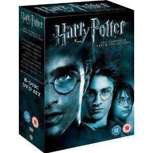 Harry Potter the complete 8 film collection DVD Boxset £20 delivered at Amazon