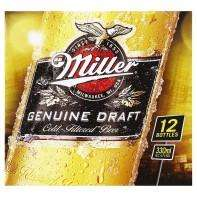 Various packs of beer for £7 at Asda incl. Miller Genuine Draft