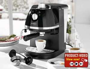 Lidl - Espresso Machine £39.99