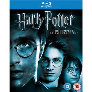 Harry Potter 1-8 on Blu-Ray £29.99 INSTORE at Sainsburys