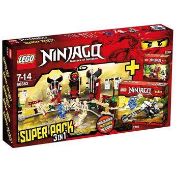 Lego Ninjago 3 in 1 pack £24.99 Toys R U S