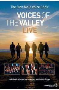 Voices Of The Valley Live The Fron Male Voice Choir DVD-only £1.49 delivered@(dvdandgameoutlet)ebay