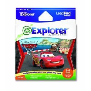 LeapFrog Leapster/LeapPad Explorer Cars 2 Game- Half Price at Amazon