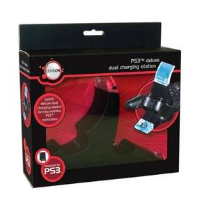 PS3 Deluxe Dual Charging Station - @ Argos - £2.90