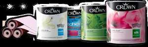 5L CROWN Emulsion for the price of 2.5 L £17.48 at HOMEBASE