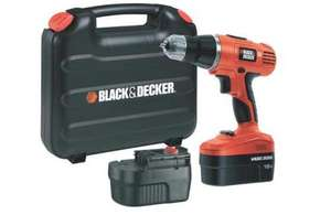 Black and Decker 18V Combi Hammer Drill with 2 Batteries and case £47.99 @ Homebase