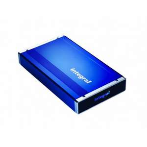 Akasa AK-ENP2NDAS-BLUK USB 2.0 and LAN Integral Enclosure for 3.5 inch IDE HDD - Blue  £18 @ Amazon