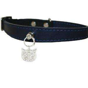 Bobby Félicité Cat Collar With Swarovski Elements, Black, Red, Turquoise Now £6.26 @ Amazon