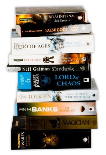 Fantasy and Sci-Fi TEN  book bundle - £9.99 (or £7.99 using code) @ WHSmith
