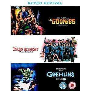 The Goonies/Gremlins/Police Academy Triple Dvd set only £3.99 delivered@(dvdandgameoutlet)ebay