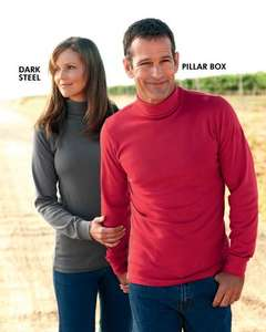 Cotton roll neck top Unisex £5.95 del using code @ Cotton Traders
