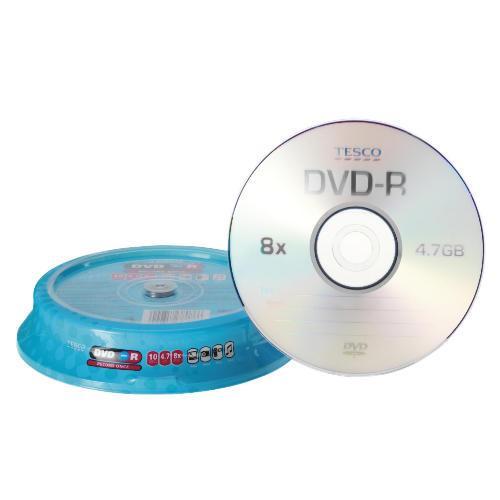 DVD-R 10 Pack - £1.80 @ Tesco