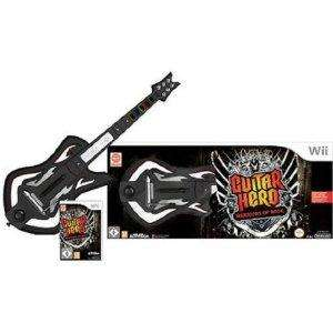 Guitar Hero 6: Warriors of Rock - Guitar Bundle (Wii) £32.97 @ amazon