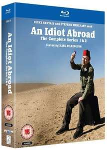 An Idiot Abroad: Series 1 and 2 (Boxset) [Blu-ray] for £20.99 @ Choices UK