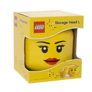 Lego Storage Head (girl) £13.49 @ Play