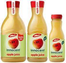 Innocent Apple Juice 1.35 Litres Family Size 99p Cool Trader