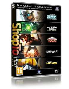 TOM CLANCY COLLECTION PC  or UBISOFT CLASSICS PC  £6.85 EACH delivered at shopto.net