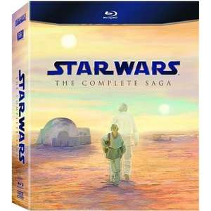 Star Wars: The Complete Saga (9 Discs) (Blu-ray) - £48 Delivered @ Amazon