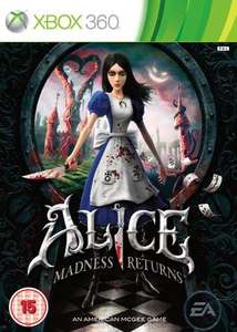 Alice; Madness Returns £12.99 360/PS3 £13.20 PC @ Amazon