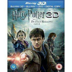 Harry Potter and the Deathly Hallows Part 2 (3D Blu Ray) £14.97 @ Amazon
