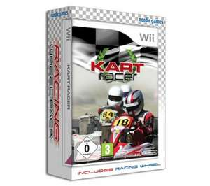Kart Racer and Racing Wheel - for Wii - £4.99 delivered @ dixons
