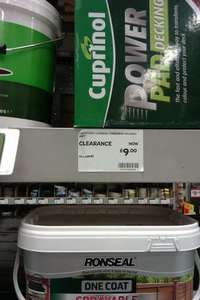 Cuprinol Powerpad Decking Unit B&Q in-store £9