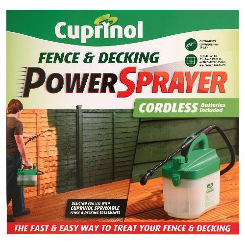 Cuprinol fence & decking power sprayer £7.99 @ Tesco **INSTORE ONLY**