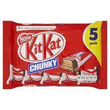TESCO EXPRESS Nestle Kitkat Chunky Milk 5 Pack 240G ONLY £0.45 INSTORE