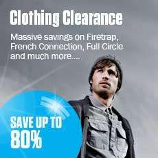 Clothing Clearance Sale @ The Hut (upto 92% off) [Mens/Womens]