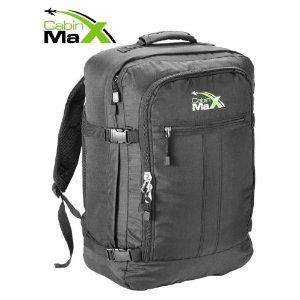 Cabin Max Backpack Flight Approved Carry On Bag Massive 44 Litre Travel Luggage - £19.95 @ Amazon