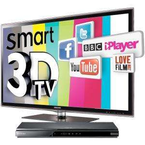 samsung UE40D6100 FREE 3D BLU-RAY PLAYER & 2 X 3D GLASSES £664.99 @ Comet