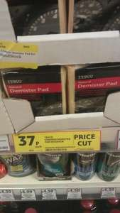 Chamois Demister Pad 37p Tesco instore - Reduced from £1.47