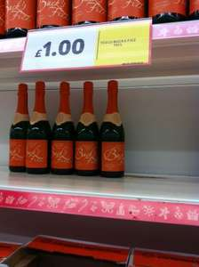 Tesco Bucks Fizz £1 for 75Cl or 25% off  6 for £4.50. Thats 75p a bottle!!