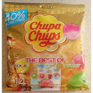 Chupa Chups - The Best Of - 14 pk for £1 @ Primark