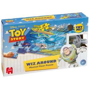 Toy Story Whizz Around Musical Floor Puzzle was £12.99 now £5.20 del w/codes @Early Learning centre