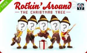 "JibJab ""Rockin Around the Christmas Tree"" eCard (Free)"