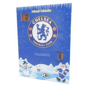Chelsea or Manchester United Advent Calendar - 50p @ Sports Direct