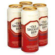 Old Speckled Hen Ale, 12 x 500ml Cans (and Bottles where stocked) for £9.00 at Tesco