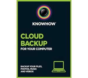 5 Years of 500GB Cloud Backup for £0.01 - PCWorld/Currys/Knowhow