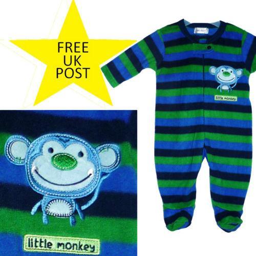 Fleece sleepsuit baby winter toddler - £3.90 @ Primark