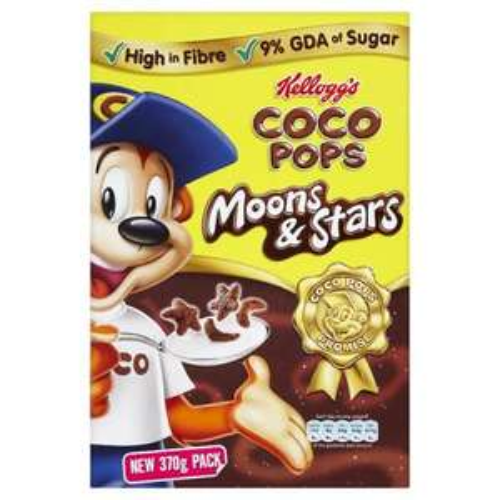 Tescos - Kellogs Coco Pops Moons & Stars - 370g Box - BOGOF 67p
