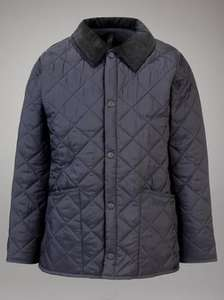 Barbour Liddlesdale Quilted Jacket, Navy £49.95 @ John Lewis