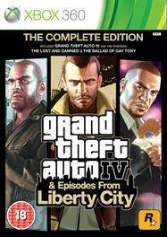 Grand Theft Auto IV (GTA IV) Complete Edition (360 only) - £16 Delivered @ Tesco Entertainment
